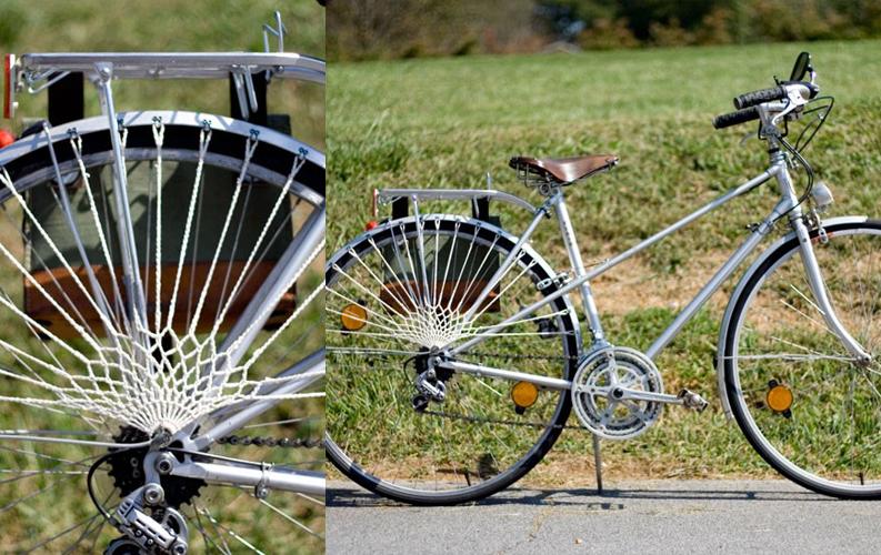 自転車のかぎ針編みドレスガード