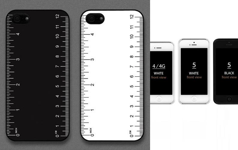 B&W定規のiPhone5ケース