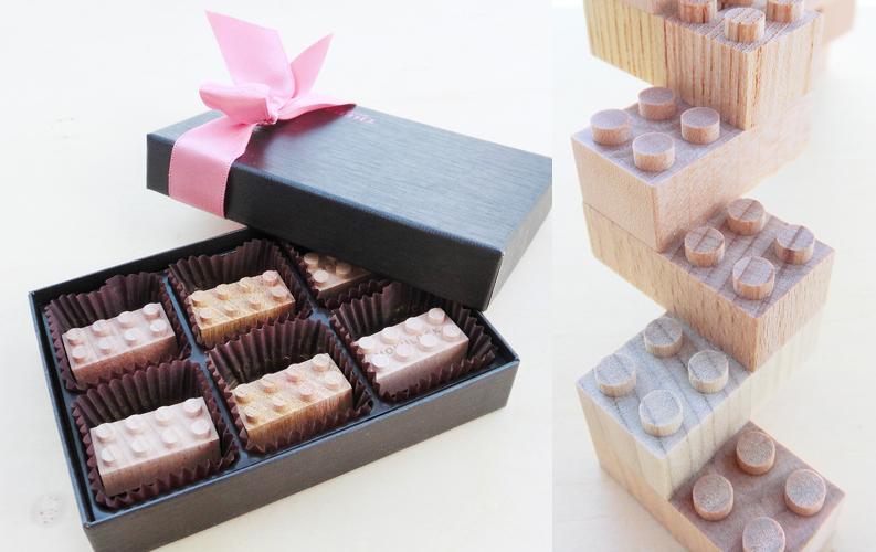 モクロックをチョコレートに。